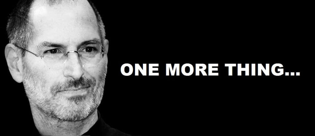 Steve Jobs'tan 'One More Thing'! Son Projesi Hayata Geçti!