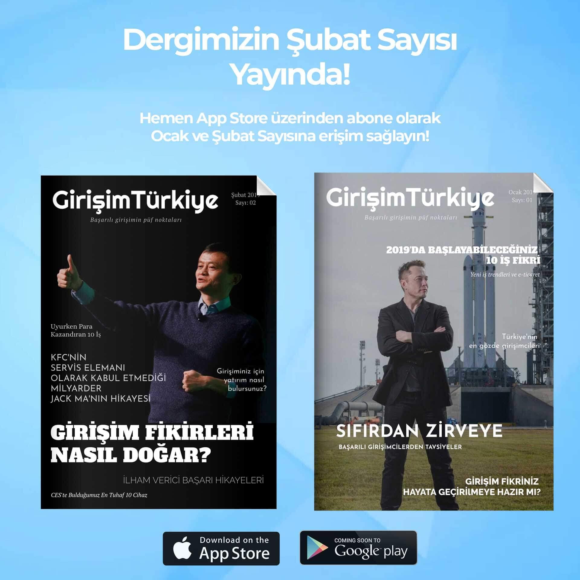 Aylık Girişim Türkiye Dergisi: Girişimciler İçin En İyi İçerikler