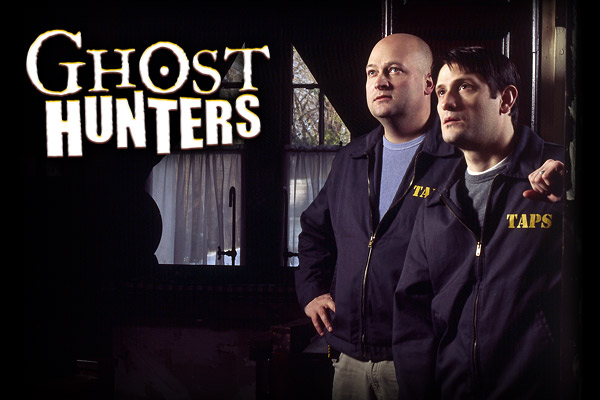 Jason Hawes and Grant Wilson, the leads of Scifi show Ghost Hunters