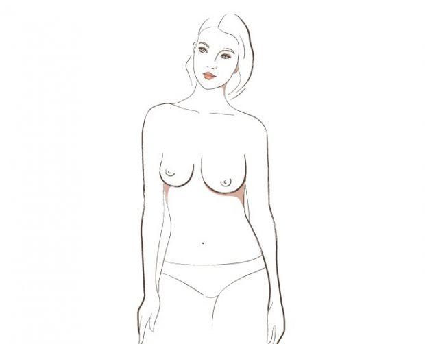 Асиметрични гърди