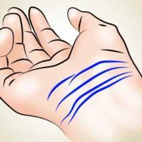 Проверете дали имате тези рядко срещащи се линии на китката