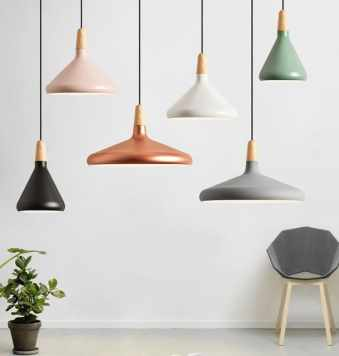 Nordic-White-Black-Wood-Pendant-light-restaurant-bar-bedside-kitchen-lamps-Japanese-minimalist-modern-creative-Pendant