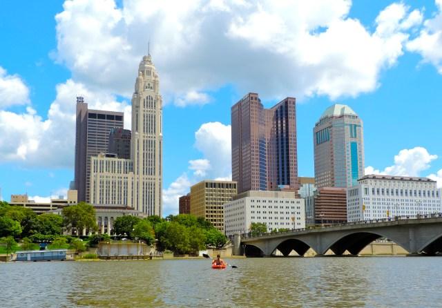 Columbus Ohio Kayaking Girl About Columbus