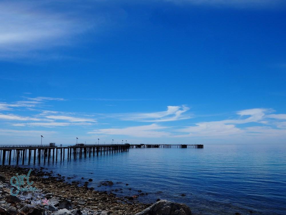 Rapid Bay Jetty landscape blue sky