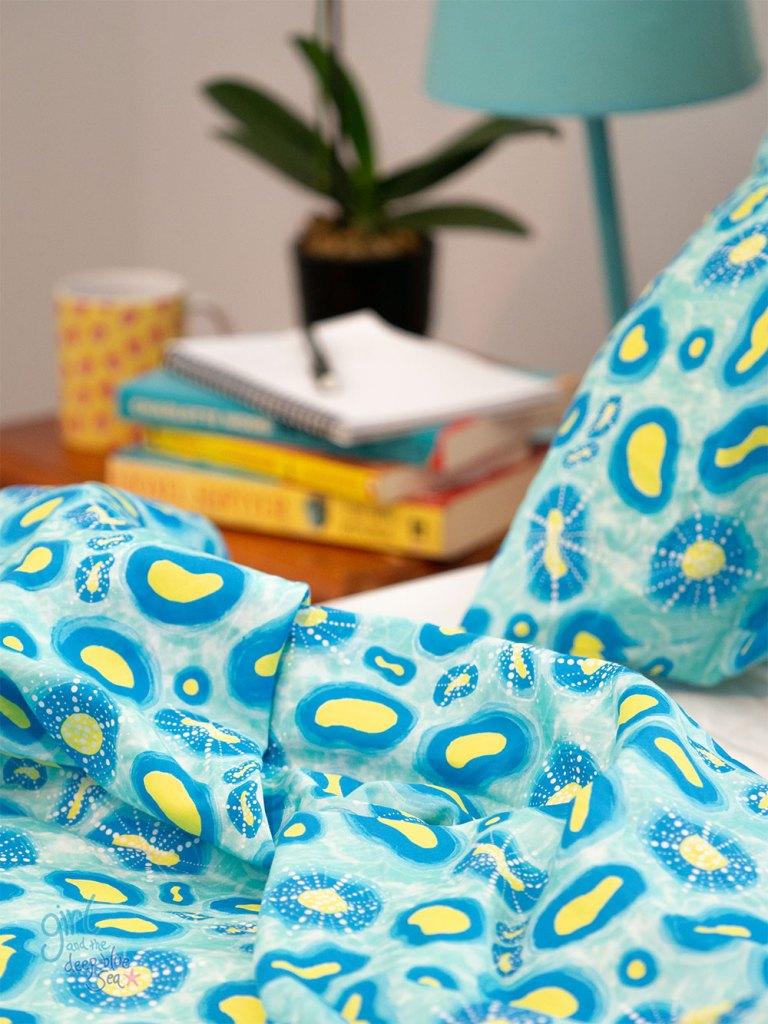 pattern design process by Brisbane artist
