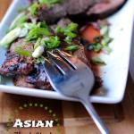 Marinated Asian Flank Steak. Girl and the Kitchen