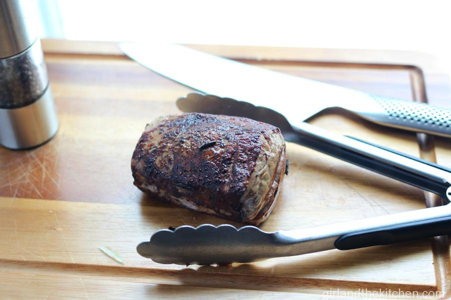 A succulent and simple steak recipe with a gourmet twist ideal for any fancy dinner party or romantic date.