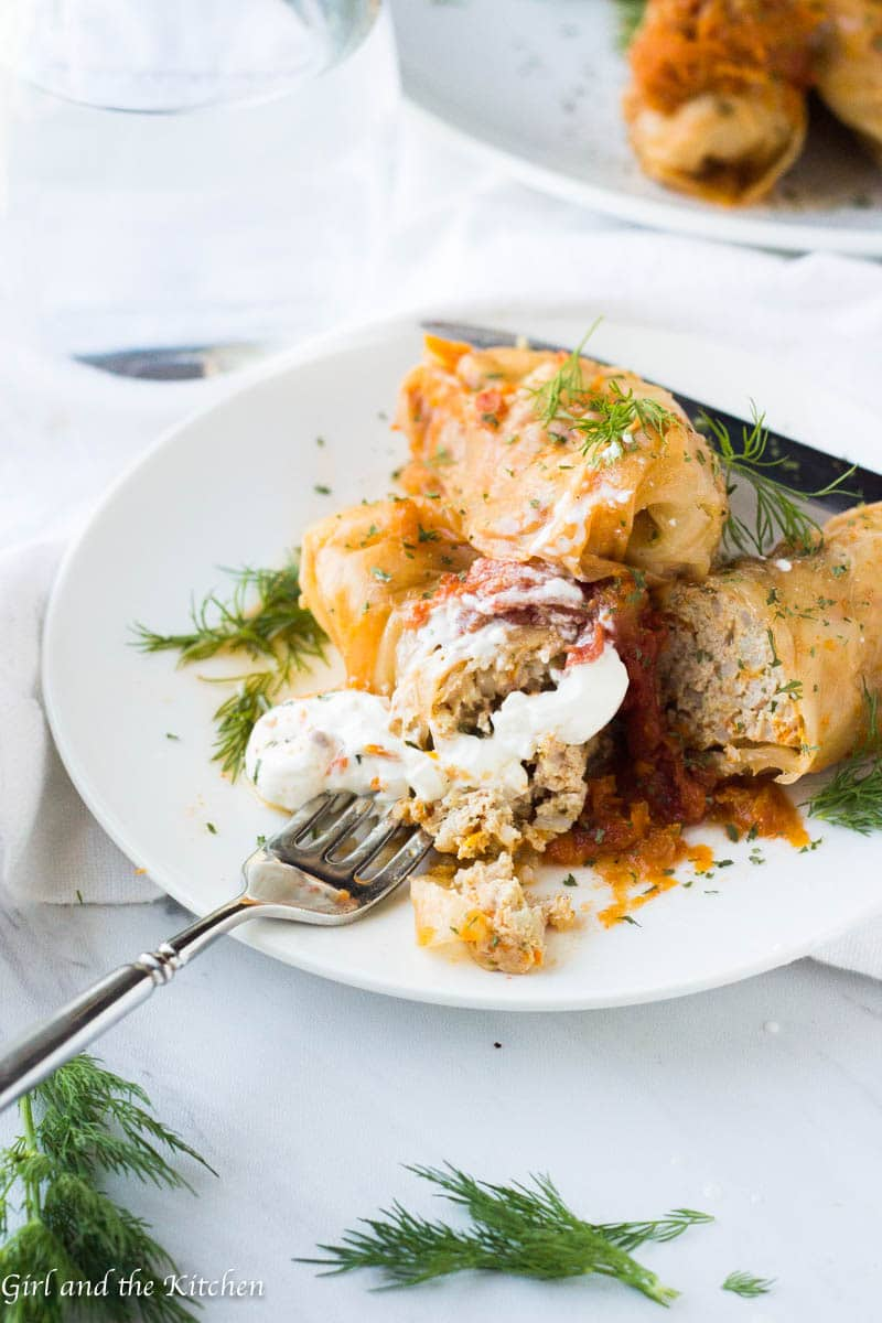 Instant Pot Stuffed Cabbage Girl And The Kitchen