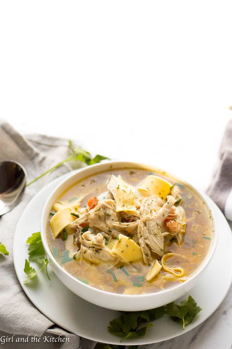 Learn how to make instant pot chicken soup with this delicious guide! The  recipe is
