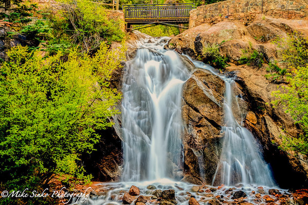 If you're looking for things to do in Colorado Springs, make sure to check out Helen Hunt Falls.