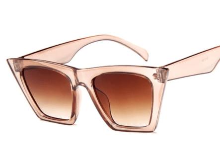 Champagne Square Sunglasses