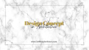 Design Concept in Architecture cover photo