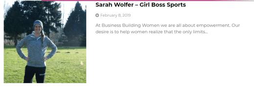 Business Building Women Pic