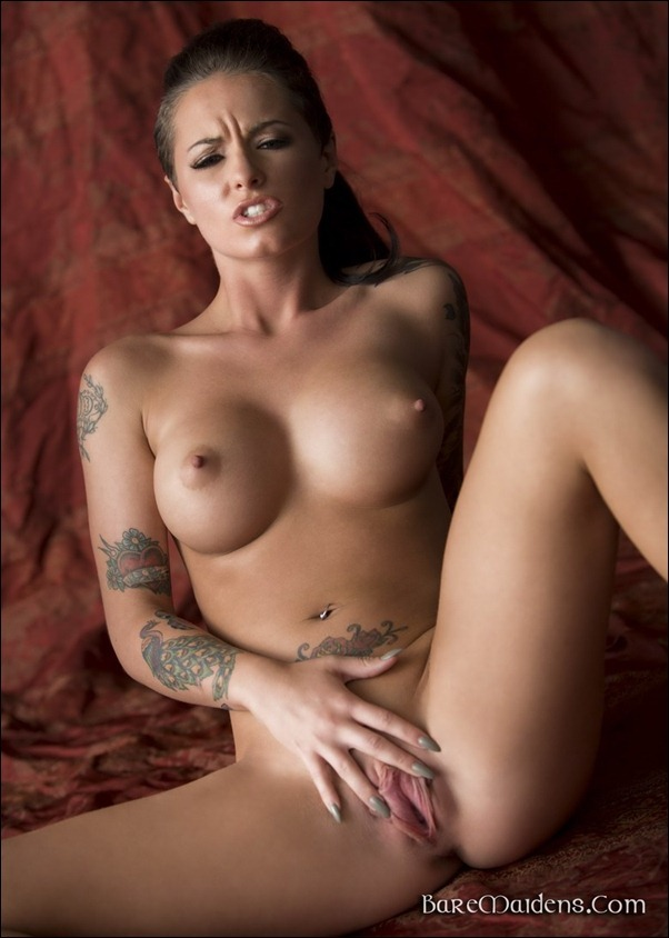 Tattoos tits and pussy sex photo