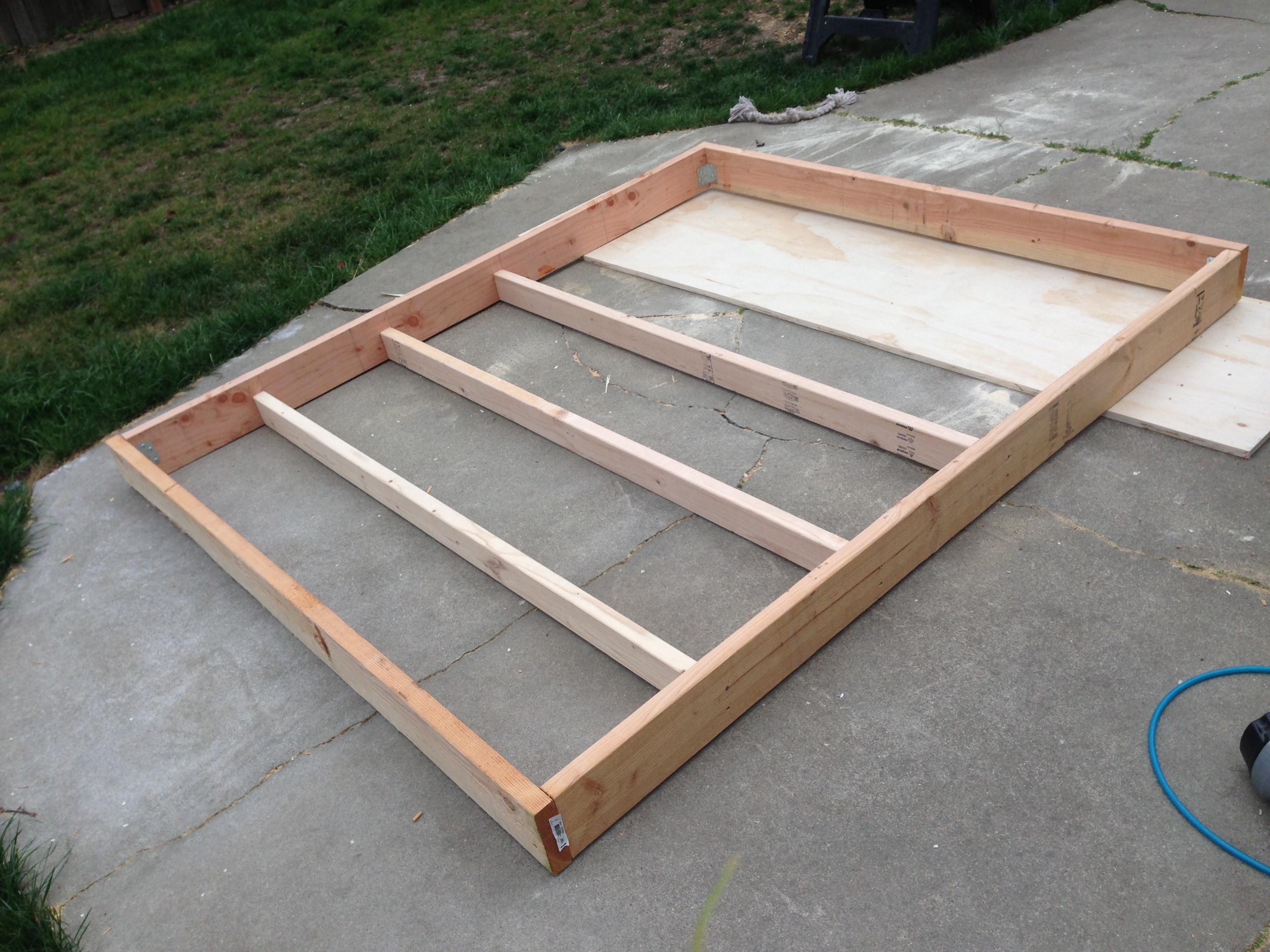 Wooden California King Platform Bed Plans Plans