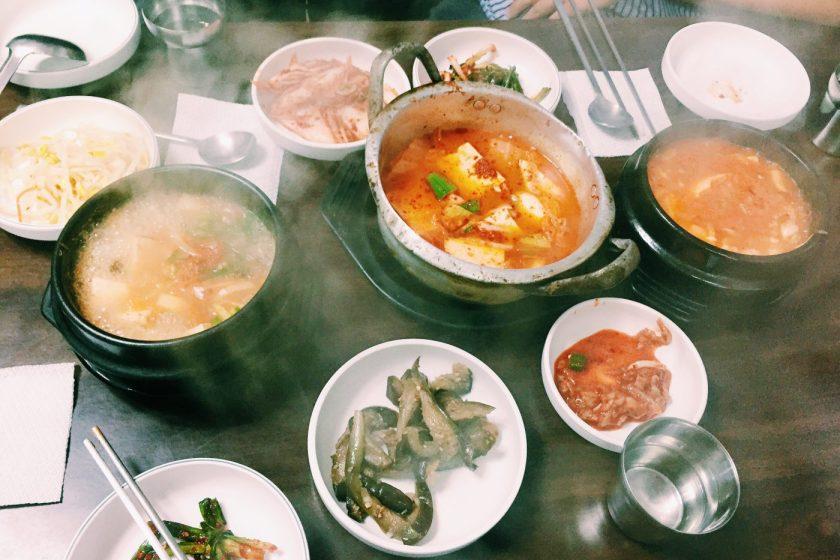 Soup! I love Korean soups!