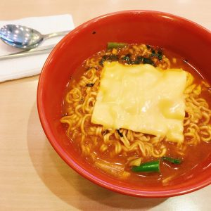 Spice Ramen with Cheese