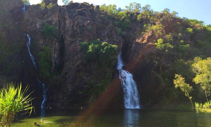 A clearer look at Wangi Falls