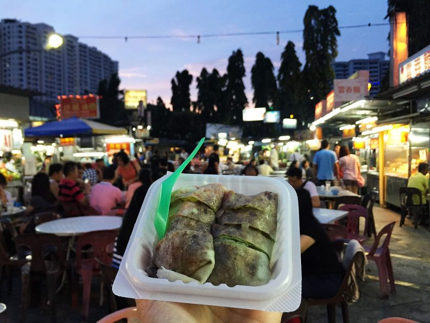 Popiah at Gurney Drive