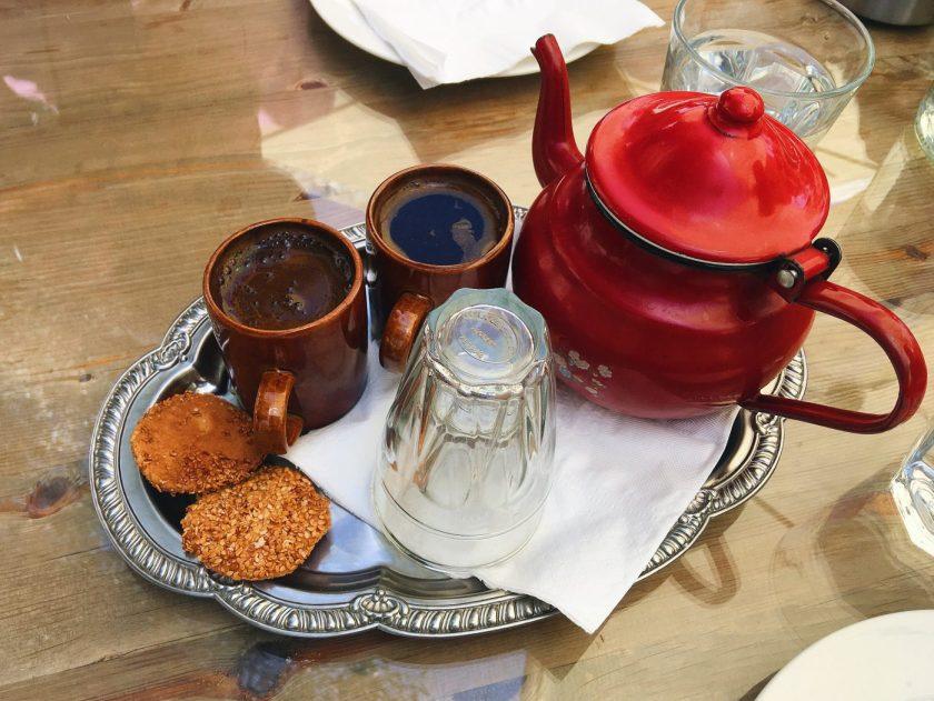 Turkish Coffee with Barazek