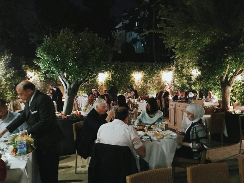 Al Fresco Dining at Fakhr-El Din