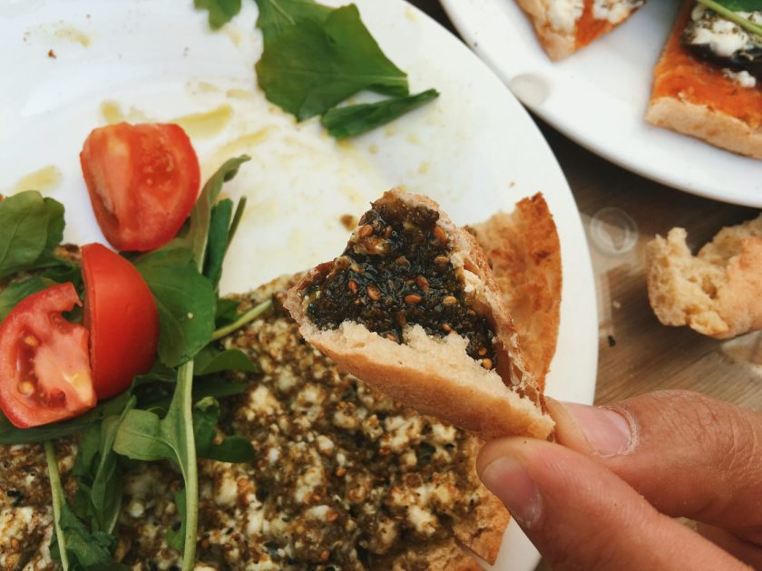 Za'atar on Bread