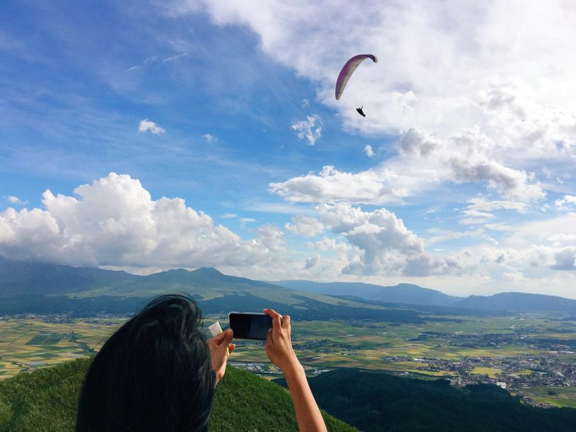 Kyle and Paragliders