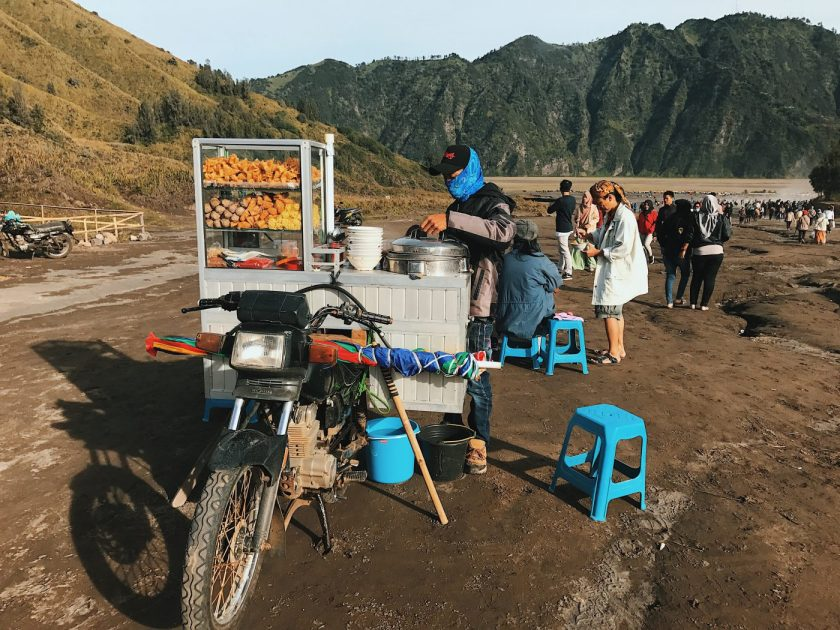 Bakso at Mount Bromo