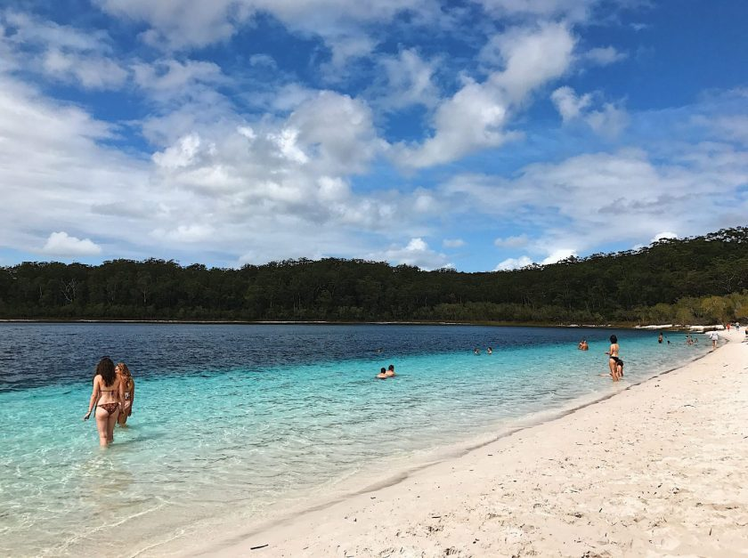 Lake McKenzie - can you believe this is all fresh water?