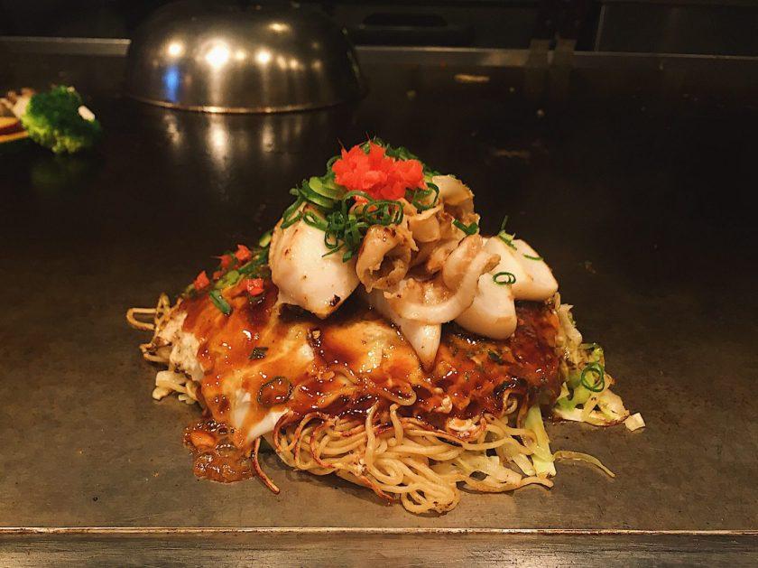 My Okonomiyaki at Hiroki in Shimokitazawa