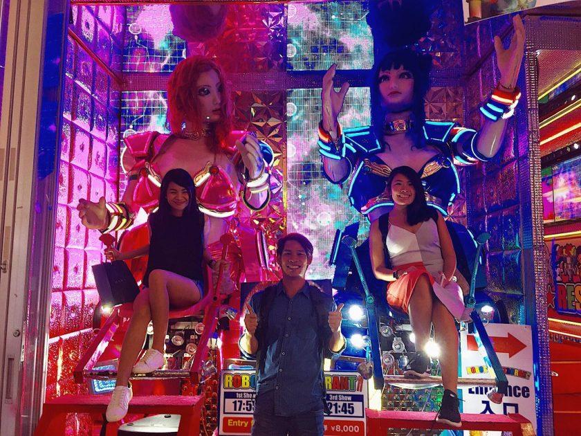 Us + Robots in Shinjuku