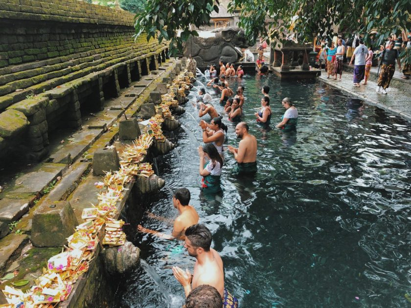 Tirta Empul Temple in Central Bali