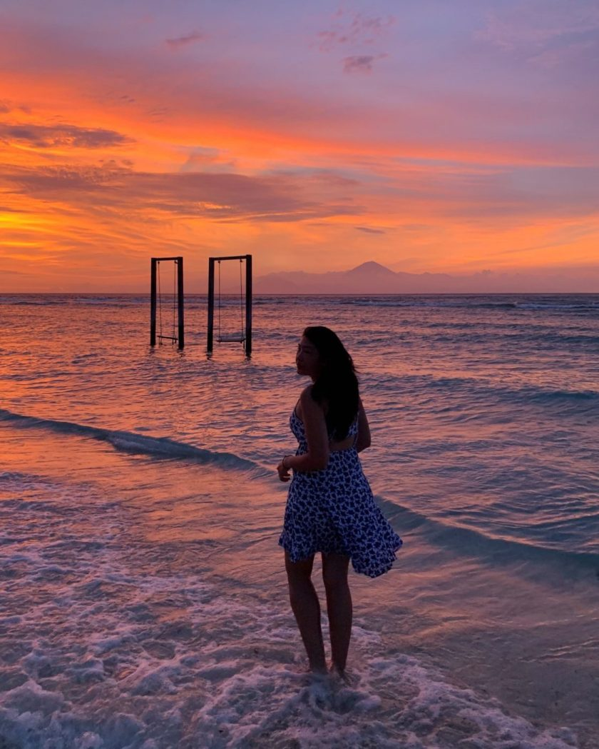 Incredible Sunset from Gili Trawangan