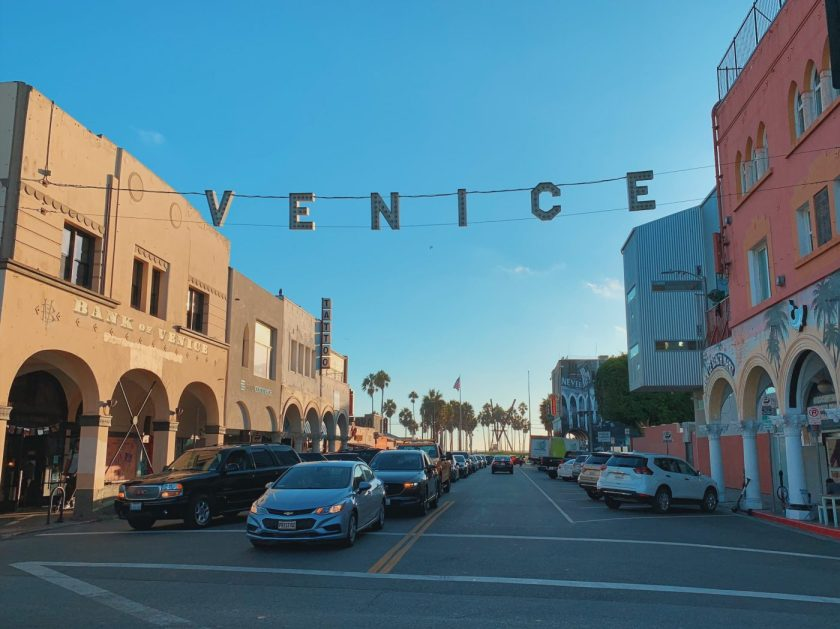 Venice Sign at Venice Beach