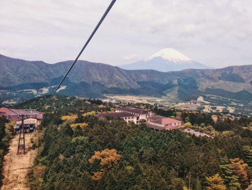 Mount Fuji from Hakone Ropeway