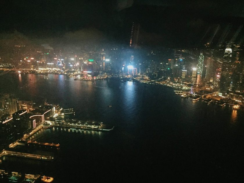 View from Ozone at 118th Floor