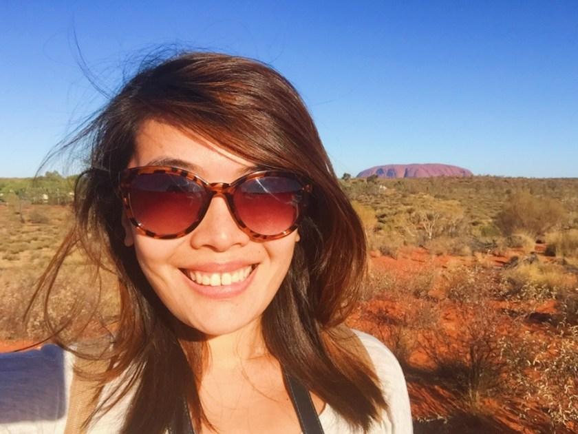 Uluru from Imalung Point in Yulara