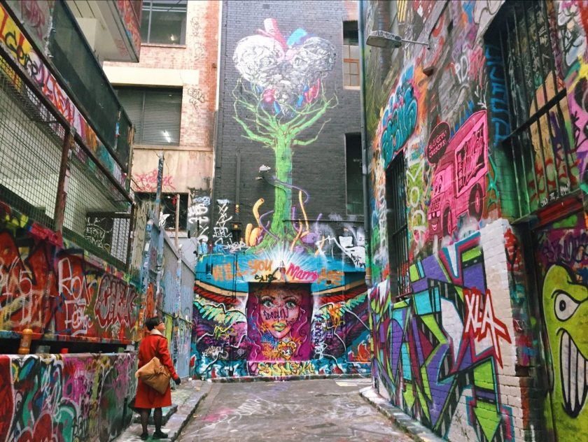 Hosier Lane Melbourne