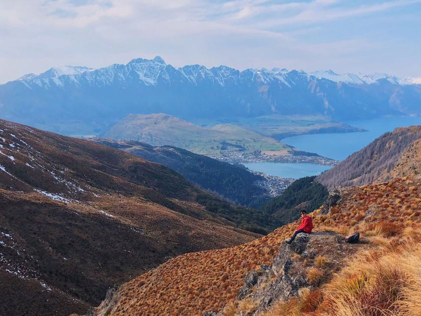 View from Ben Lomond Hike