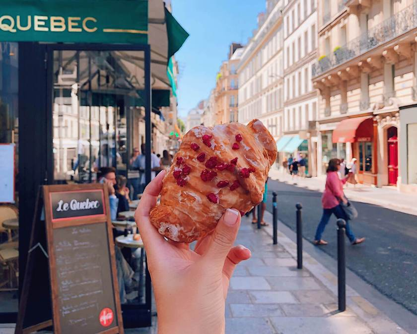Ispahan Croissant from Pierre Herme