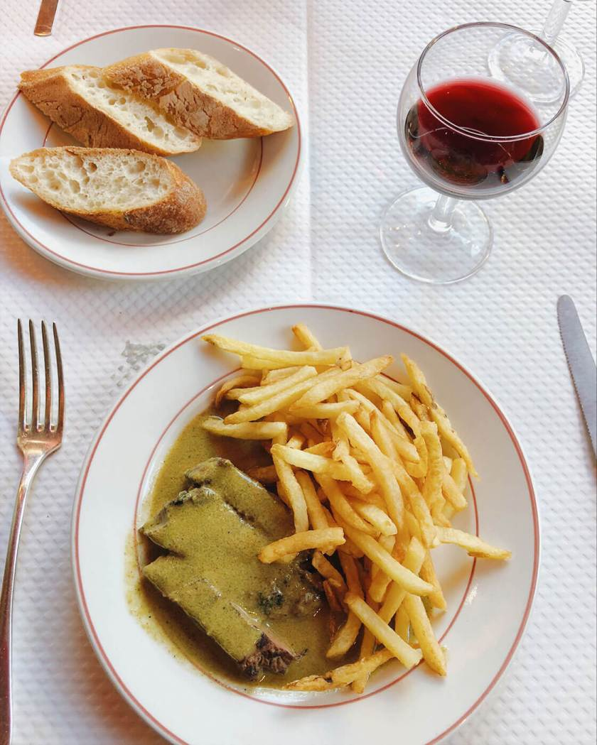 Steak Frites at Le Relais de L'Entrecote