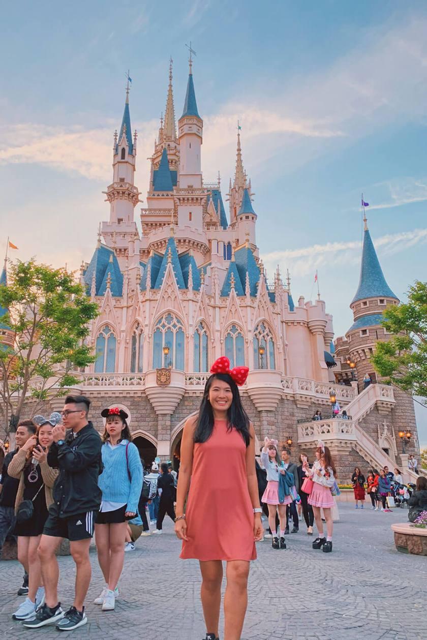 Cinderella Castle at Tokyo Disneyland