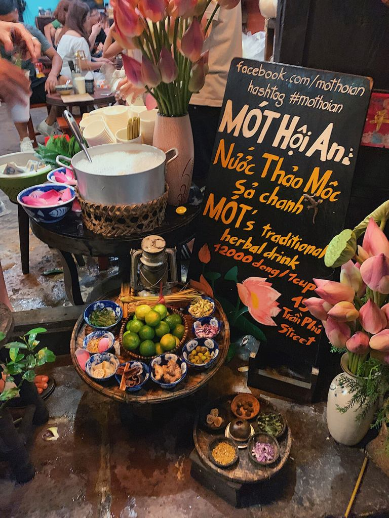 Mot Herbal Tea - Hoi An Food
