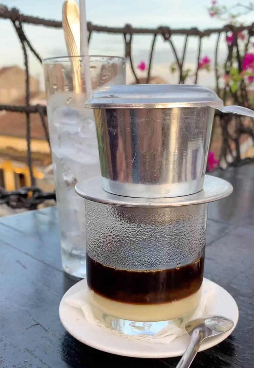 Vietnamese Drip Coffee - Hoi An Food
