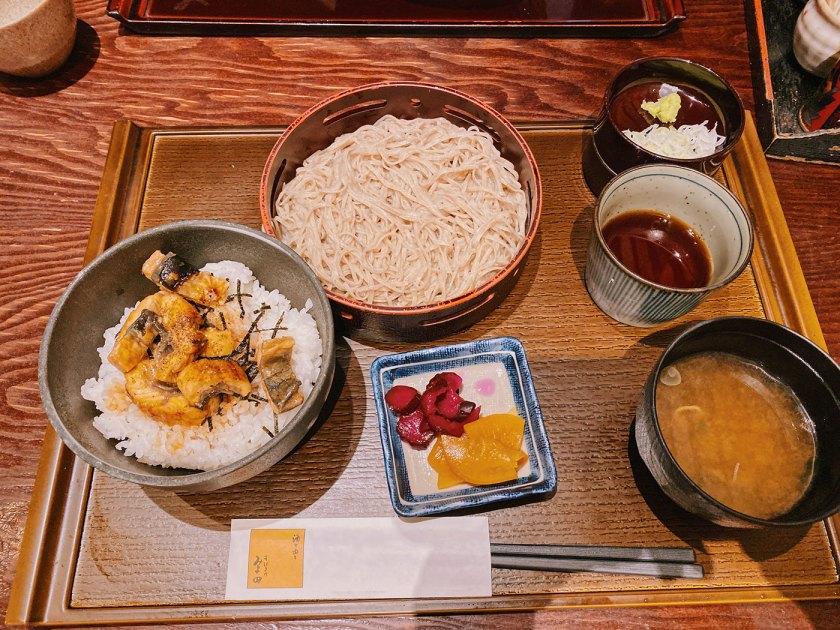 Cold Soba in Nagano