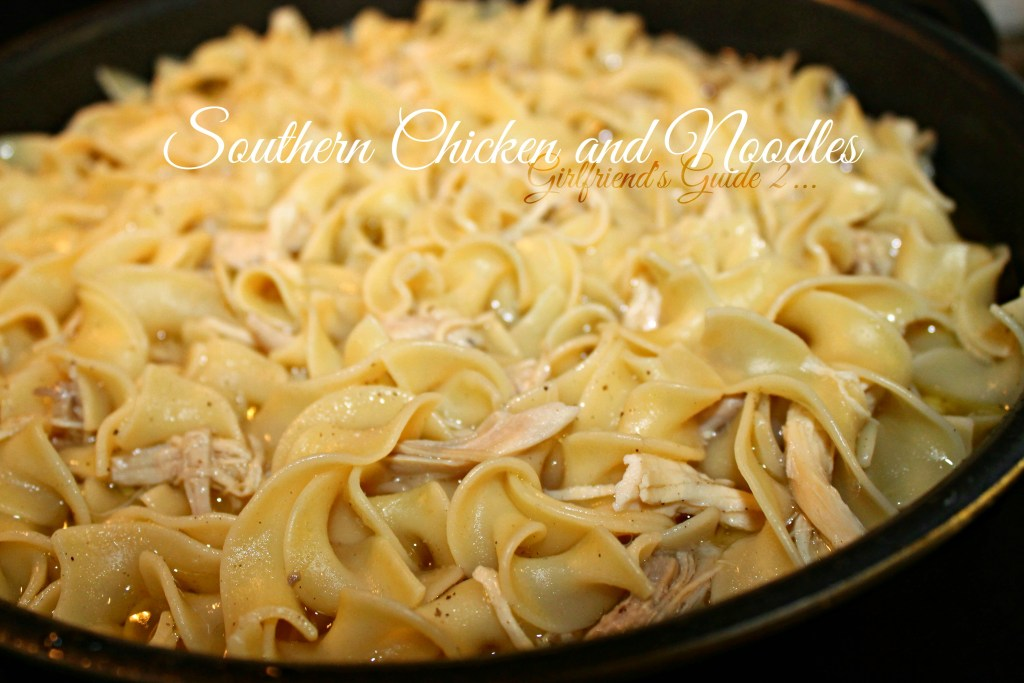 Southern Chicken and Noodles