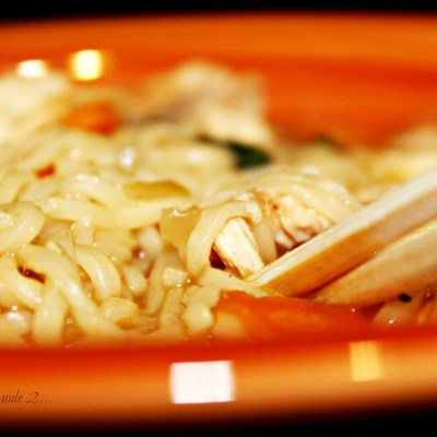 Quick & Easy Chicken Noodle Bowl
