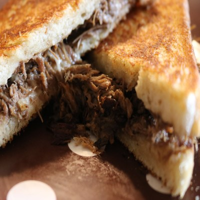 Shredded Roast Beef Sandwich