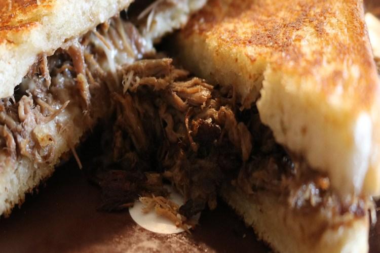 Shredded Roast Beef Sandwich