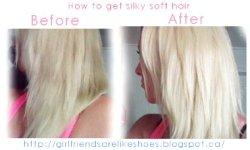 Do You Want Silky Hair?